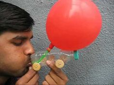 how to make & use a balloon car