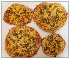 פיצה ביתית( בצק בלי שמרים)