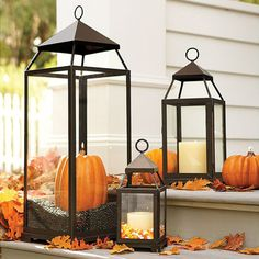Lanterns Decorations - 23 Amazing DIY Fall Decorations for Your Home