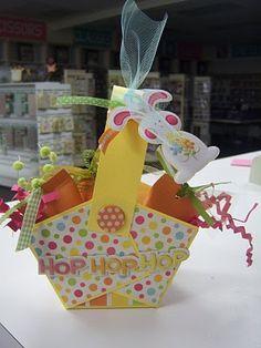 Super easy Easter basket