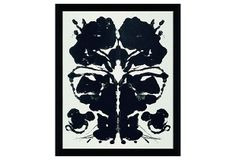 One Kings Lane - His & Hers - Warhol, Rorschach, 1984