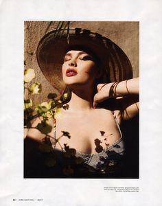 models, beauti curvi, plus size, size beauti, sexi sensual, magazines, model inspir, bust magazin, harriet coleman
