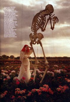 tim burton's tricks and treats. Photos by tim walker