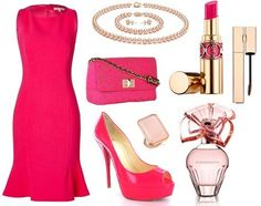 "prettyyourworld's stylebook at ShopStyle: Clear Spring ""Little Magenta Dress"" on shopstyle.com"