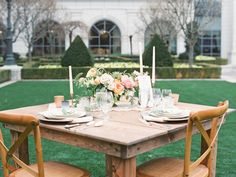 Peach and Green Wedding Table | photography by http://www.slcutahweddingphotography.com | floral design by http://www.tingefloral.com | event design and styling by http://www.michelleleoevents.com