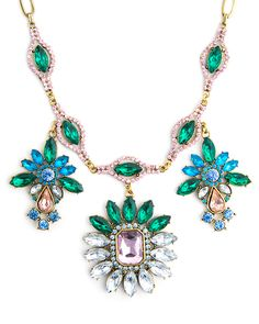The Garden Party Necklace by JewelMint.com, $36.00