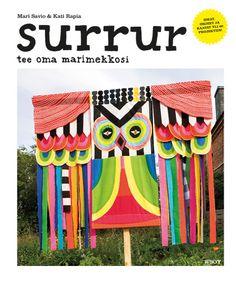 "Book: surrur - tee oma marimekkosi. ""do your own marimekko"" #marimekko #diy"