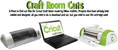 Free cut files for Cricut Craft Room