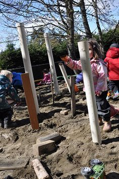 loose parts in the sand box
