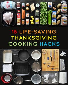 17 Life-Saving Thanksgiving Cooking Hacks