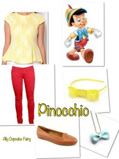 Pinocchio  Disney Inspired Outfits