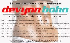 FREE 14-Day Awesome Abs Challenge