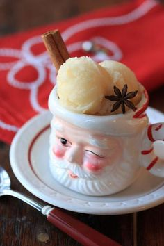 Mulled Cider Sorbet:  A Twist on Holiday Tradition