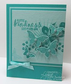 2014 Stampin' Up Convention Display Sample by Lyssa Griffin Zwolanek, Song of My Heart Stampers.