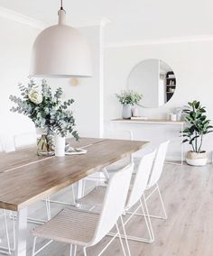 "Jessie Rose l Seascape Living on Instagram: ""How simple and absolutely beautiful is this space from @the_stables_ Natural tones and textures with greenery make this whole space…"""