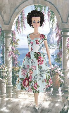 Tea Roses Barbie by Gwendolyns Treasures