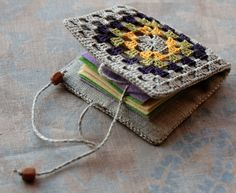 Granny square needle book | Flickr - Photo Sharing!
