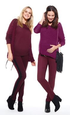 Thyme Maternity Fall 2013 Fashion - Berry Blast #ThymeMaternity #Maternity #Fashion