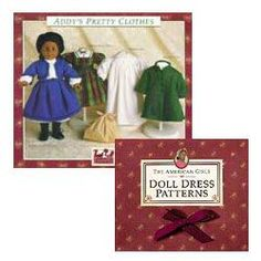 American Girl doll discontinued doll pattern free downloads...6 sets!