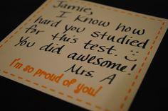 The Teacher's Lane: Happy Notes Printable