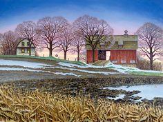 JohnSloaneArt.com - John Sloane - Gallery - Down on the Farm