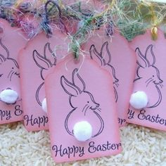 Peter Cottontail Easter Gift Tags