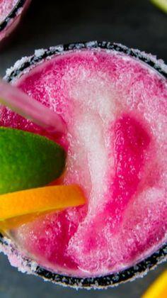 Sangria Swirled Frozen Margaritas Recipe