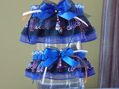 New York Mets Wedding Garter Set...or these when i get married...