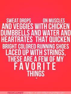Favorite fitness things. hilarrrious