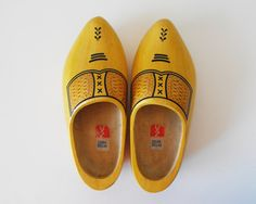 Vintage Dutch Wooden Shoes