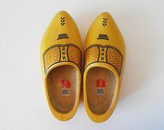 Vintage Dutch Wooden Shoes
