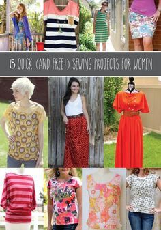 15 Quick Sewing Patterns for Women