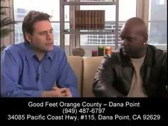 Plantar Fasciitis Relief - Foot Pain Heel Pain Arch Pain Back Pain Relief - Good Feet Orange County - YouTube