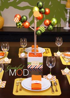 ADORABLE Thanksgiving Party Decorations