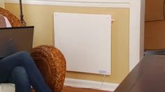 Ecoheater Wall-Mounted Ceramic Convection Heater - Eco Heater Inc T400U - Electric Space Heaters - Camping World