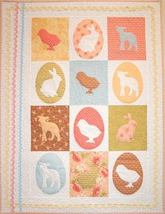 Crazy Old Ladies Quilts: Easter Parade