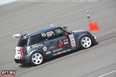 Murray Pfaff's 2002 Mini Cooper will be competing in the 2014 #OUSCI