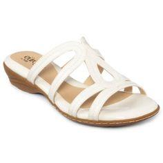 Eurosoft Colletta Sandal available at JCPenney! #Slipon #summer