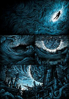 Parkway Drive Deep Blue-Awesome ideas for my blue tattoo sleeve...