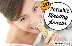 20 Ways to Eat Better On the Go. Learn how to fuel your busy life the right way with these tips from Meta spokesman Michael Strahan! | via @SparkPeople #health #fitness #wellness #meta