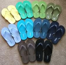 A girl can never have too many flip flops!