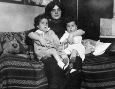 Michel and Edmond Navratil reunited with their mother, Marcelle, in New York City one month after the Titanic disaster. The children's parents had recently separated, and what was supposed to be a weekend stay with their father turned into a trip on the Titanic to start a new life in America without Marcelle.