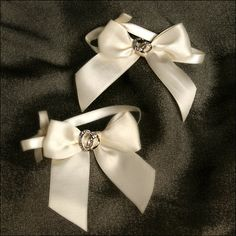 Accent Bows - With This Ring - Ivory