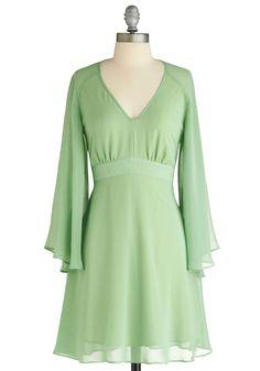 Tiana green dress
