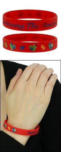 Embracing the Amazing Autism Awareness Silicone Bracelets at The Autism Site