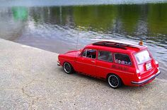 Custom VW 1600 Squareback die-cast