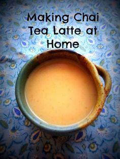 How to Make Chai Tea Latte at home - #recipe