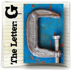 Letter G Alphabet Photography  COLOR 4x6 Photo Letter UNFRAMED. $4.00, via Etsy.