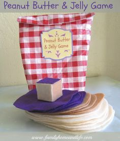 Family Home and Life: Peanut Butter & Jelly Game