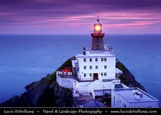 Baily Lighthouse  by Lucie Debelkova